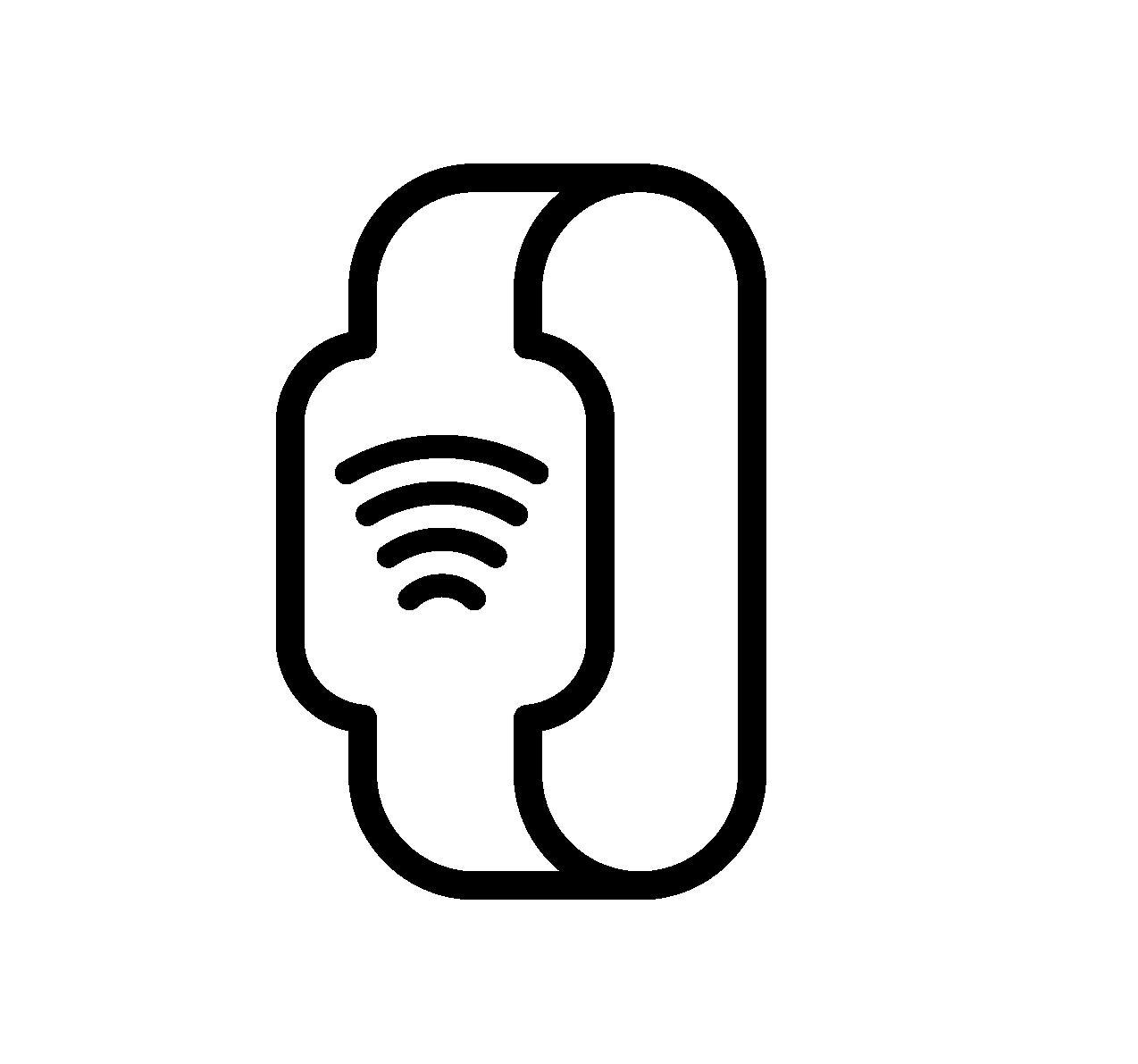 Ikona - płatności opaską zbliżeniową