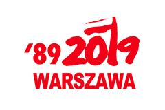 Rocznicowy logotyp Miasta Warszawa
